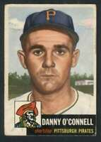 1953 Topps #107 Danny O'Connell VGEX Pirates DP 87062