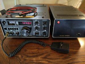 Yaesu FT-301AD Transceiver & FP-301 Power Supply-Please See Description & Video