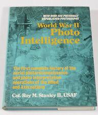 PRL) WORLD WAR II PHOTO INTELLIGENCE ROY STANLEY USAF HISTORY AERIAL PHOTO FILM
