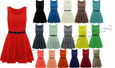 Unbranded Polyester Round Neck Dresses Mini