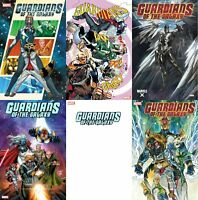 Guardians Of The Galaxy #1 6 Variant Bundle (Marvel 2020) Blank Party Lim