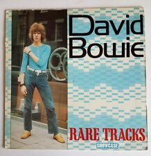 RARE 1985 DISQUE 33 TOURS VINYL DAVID BOWIE / RARE TRACKS