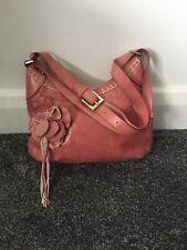 RUSSELL & BROMLEY Blush Pink Shoulder Bag SOFT GENUINE LEATHER