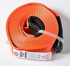 """O2 - 2"""" 14000lbs Tow Strap 20 ft winch sling off-road vehicle recovery free ship"""