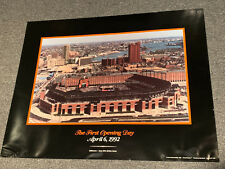 Camden Yards The First Opening Day 1992 Poster Baltimore Orioles MLB Baseball