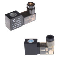 Elektrische pneumatische 4V110 Magnetventilspule DC 12V mit Lampe XJ