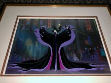 Disney Maleficent Cel Sleeping Beauty Casting The Spell Extremely Rare Cell