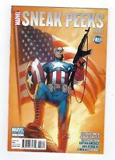 Sneak Peeks CAPTAIN AMERICA #1 PROMO (2011 Marvel Comics)  *High Grade copy.