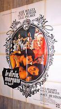 LE DIVIN MARQUI DE SADE ! john huston affiche cinema vintage erotique 1971