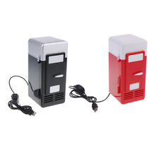 Portable 5V USB Fridge Warmer Cooler Dual Use for Car Boat Black + Red