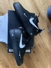 Nike Air Force 1 LV8 Utility Black UK 10 Trainers