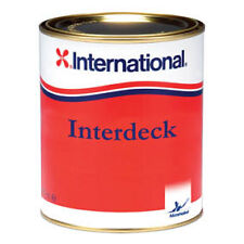 International Interdeck Non-Slip deck Paint. Squall Blue - Ideal deck coating