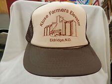 trucker hat baseball cap Klose Farmers Elevator Eldridge Cool nice Retro Style