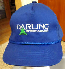 DARLING INTERNATIONAL logo Texas snapback cap animal by-products baseball hat