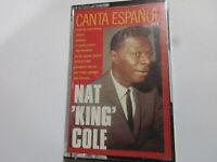 NAT KING COLE COLE CANTA ESPANOL CASSETTE    ALBUM TAPE