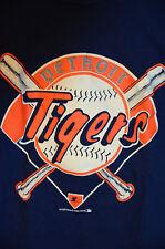 Vintage 1989 Starter Detroit Tigers Short Sleeve Graphic T-Shirt Size Medium