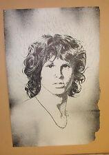 Vintage Jim Morrison The Doors Large Poster By Bob Dara