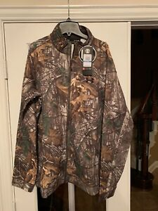 Under Armour Real tree Hunting Early Season Full Zip Jacket 1313917 Camo Size XL