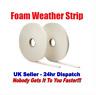 2x5M Foam Draught Excluder Tape Draft Weather Seal Strip Insulation Door  Window