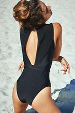 New Women's Sexy Swimsuit Swimwear One Piece Bathing Suit UK 12 Petite