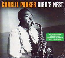 CHARLIE PARKER - BIRD'S NEST - 50 Jazz Masterpieces (NEW SEALED 2CD)