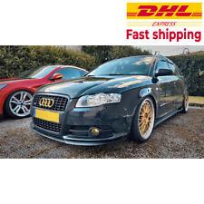 Audi S4 RS4 B7 A4 CUPRA R FRONT SPOILER BUMPER LIP Euro Spoiler Lip Universal