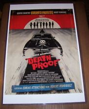 Quentin Tarantino Grindhouse Part 1 Death Proof 11X17 Movie Poster