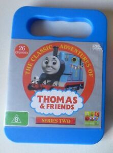 THOMAS THE TANK AND FRIENDS SERIES 2 dvd REGION 4 trains CLASSIC ADVENTURES TWO