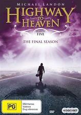 Highway To Heaven : Season 5 (DVD, 2013, 4-Disc Set)