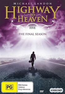 Highway To Heaven : Season 5 (DVD, 2013, 4-Disc Set) Like New! Region 4