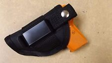 Black IWB / Inside the waistband / Belt Holster KEL TEC P32 / P-3AT ..USA
