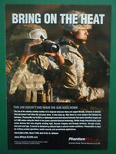 4/10 PUB ELCAN OPTICAL RAYTHEON PHANTOM IR USMC MEDIUM RANGE THERMAL BIOCULAR AD