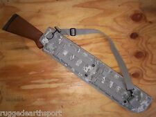 "NEW 29"" TACTICAL MOLLE SHOTGUN RIFLE SCABBARD CASE w SLING Digital Camo ARMY ACU"