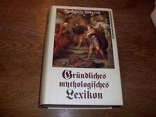 Gründliches mythologisches Lexikon, B.Hederich, Nachdruck des Originals von 1770