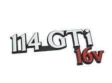 Echt New Rare ROVER 114 GTi 16V BOOT BADGE Rear Emblem 100 Metro 1990-1998