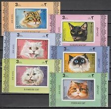 Manama, Mi cat. 585-590 C. Various Cats issue as Deluxe s/sheets. *