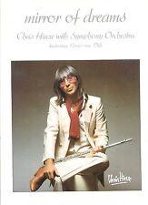 CHRIS HINZE mirror of dreams FEAT LOUIS VAN DIJK HOLLAND 1982 EX LP