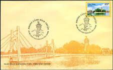 973 Vietnam Landscape in Binh Thuan stamp & FDC 2008 (Ha Noi post mark)