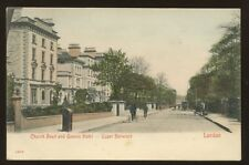 London UPPER NORWOOD Church Rd Queens Hotel PPC