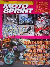 Motosprint 50 1990 Speciale Motor Show. 13° edizione Parigi Dakar. Yamaha [Q78]