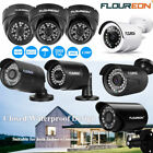 FLOUREON 1080P 3000TVL Outdoor CCTV Security AHD DVR IP Cameras IR Night Vision