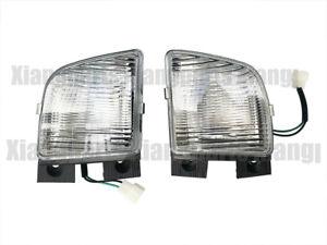Front Passenger & Driver side 2PCS Fog Lamps Light - For Toyota hiace 1997-1998