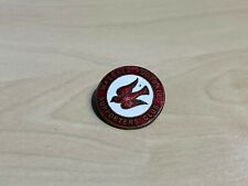 More details for vintage (1940s) walsall football supporters club enamel badge by miller