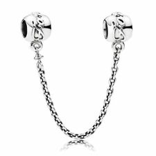 Authentic Pandora Charms Sterling Silver Family Ties Safety Chain 791788