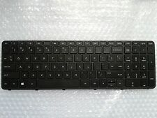 New for HP 15-r008na 15-r033na 15-r021ng Notebook Keyboard US Black With Frame