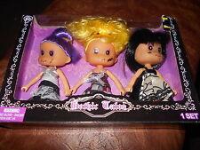 "Set of 3 Gothic Tales 5"" Dolls Nip"