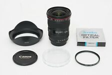 Canon EF 16-35mm f/2.8 L USM Lens EXCELLENT + BONUS 77mm FILTER UV EOS DIGITAL