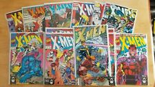 X-Men 1991 High Grade Lot Seven Copies of Issue 1 +Omega Red Gambit Rogue