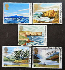 GREAT BRITAIN #945-949 used 1981 National Trust set. We combine shipping