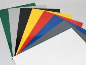 Hart PVC Kunststoffplatte   300x200x2mm   verschiedene Farben   2. Wahl